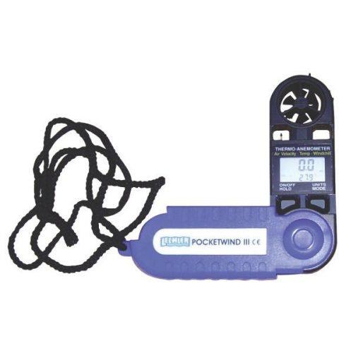 Pocketwind III. Szélsebesség és hőmérséklet mérő