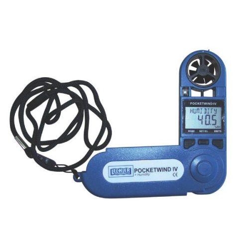 Pocketwind IV. Szélsebesség, hőmérséklet és páratartalom mérő