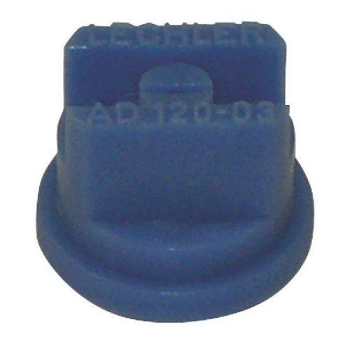 Műanyag 120° elsodródásmentes lapos sugarú fúvóka
