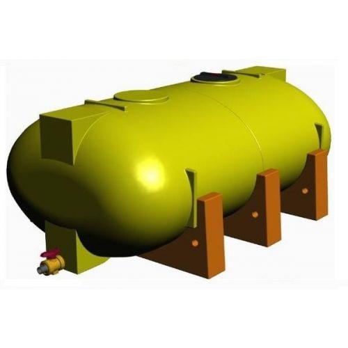6000 literes NITROSOL és víz szállító tartály
