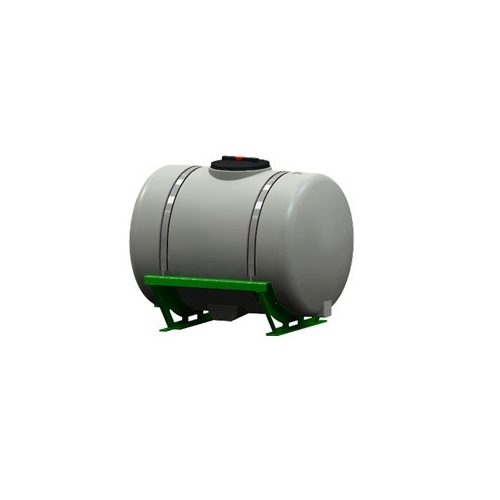 660 literes üres tartály alapvázzal