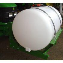 660 literes front tartály frontsúly helyére szerelhető